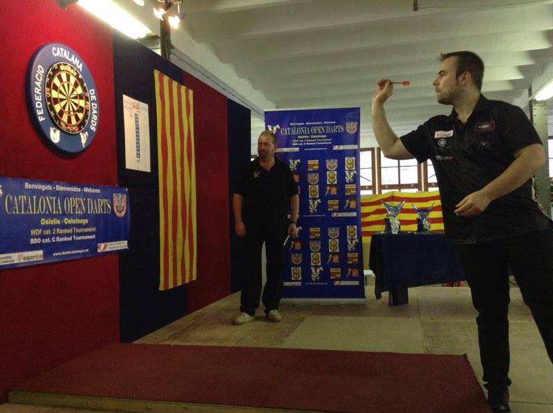 5th CATALONIA OPEN DARTS 2016 Winners <br>Martín Martí (CAT) i Sharon Prins (NED)  <br>Bracket results